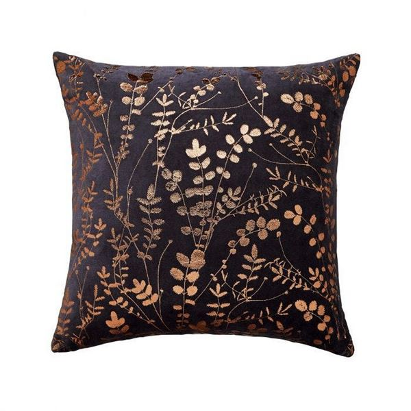 Salvia Cushion - Dark Blue