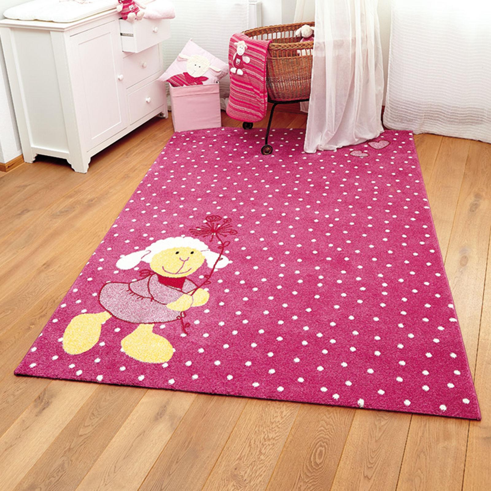 Schnuggi Rugs In Pink 0524 03