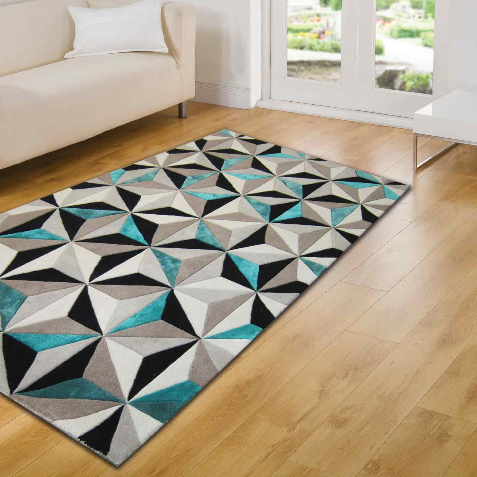 Botanical Scorpio Rugs In Teal Free Uk Delivery The