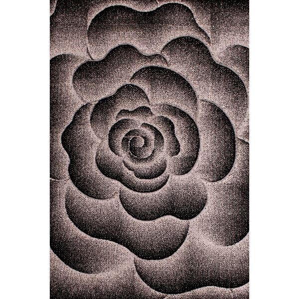 Sculptured Flower - Grey
