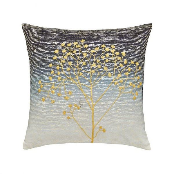 Sea Holly Cushion - Blue