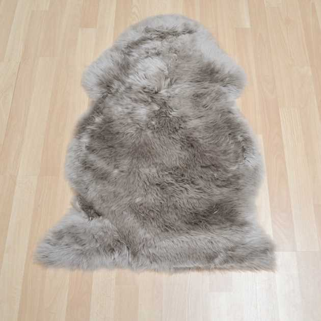 Sheepskin Rugs in Mink