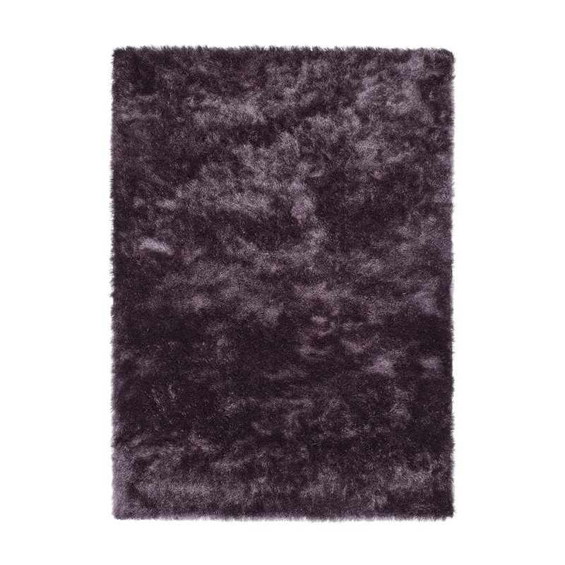 Shimmer Shaggy Rugs In Mauve Buy Online From The Rug Seller Uk