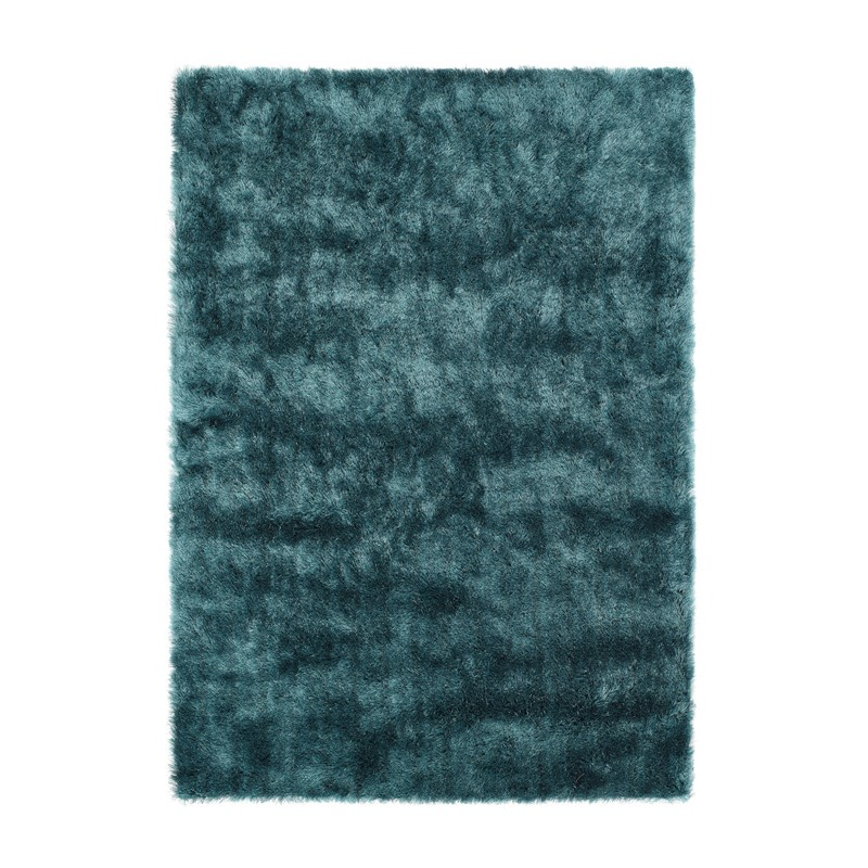 Shimmer Shaggy Rugs In Teal Buy Online From The Rug Seller Uk