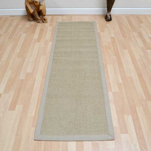 Sisal Hallway Runners In Linen Free Uk Delivery The