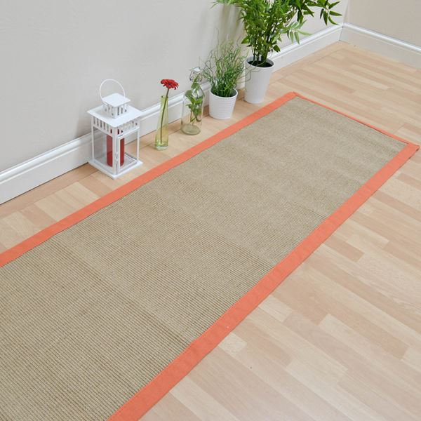 Sisal Runner - Orange