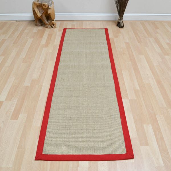 Sisal Runner - Red