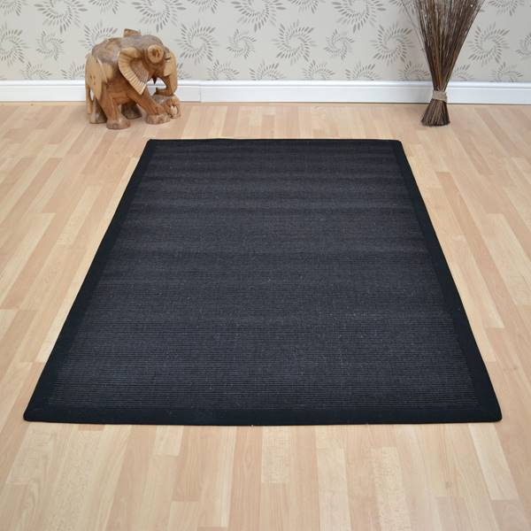 Black Rugs Shop Online With Free Uk Delivery At The Rug Seller
