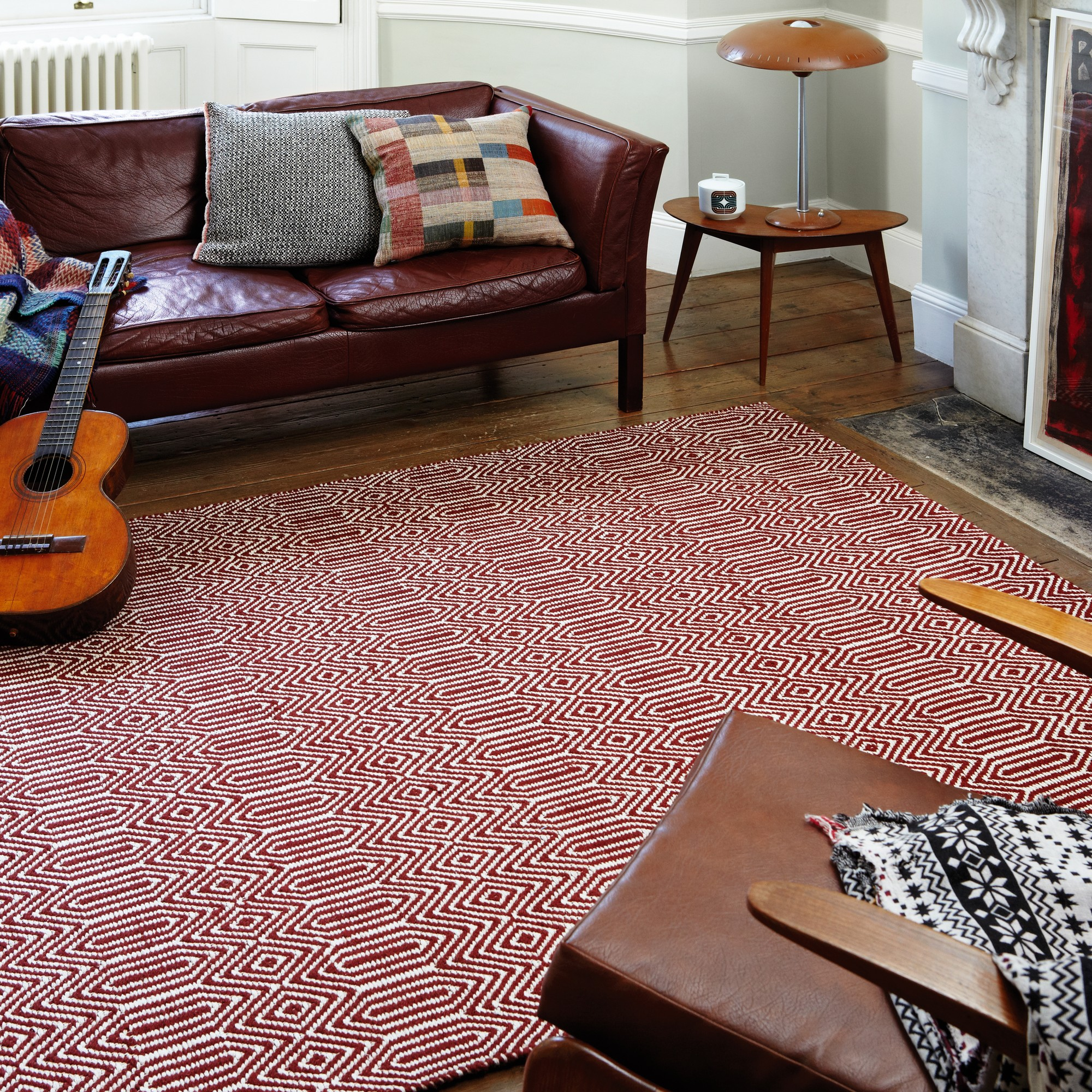 Sloan Rugs in Marsala Red