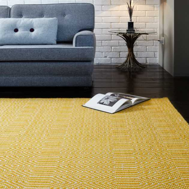 Sloan Rugs in Mustard