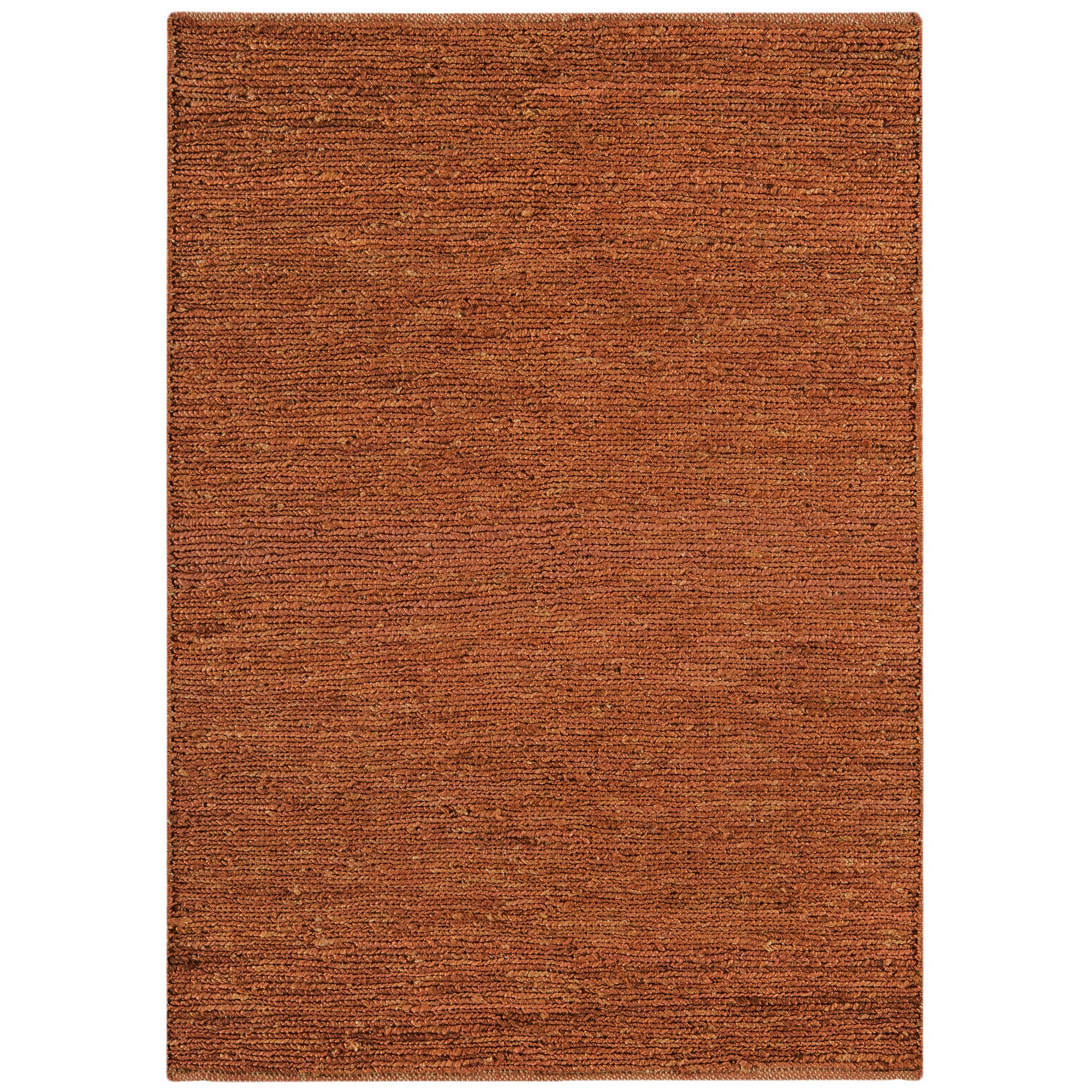 Jute Soumak Rugs in Terracotta