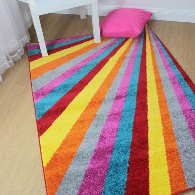 Brights Spark Multicoloured Rugs