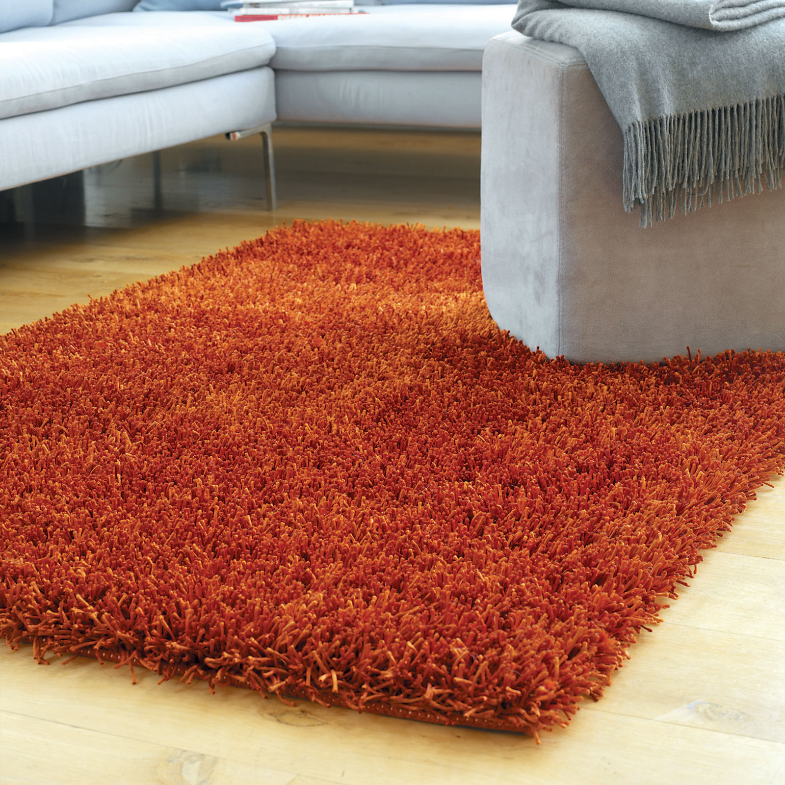 SPARKLE RUGS IN COPPER