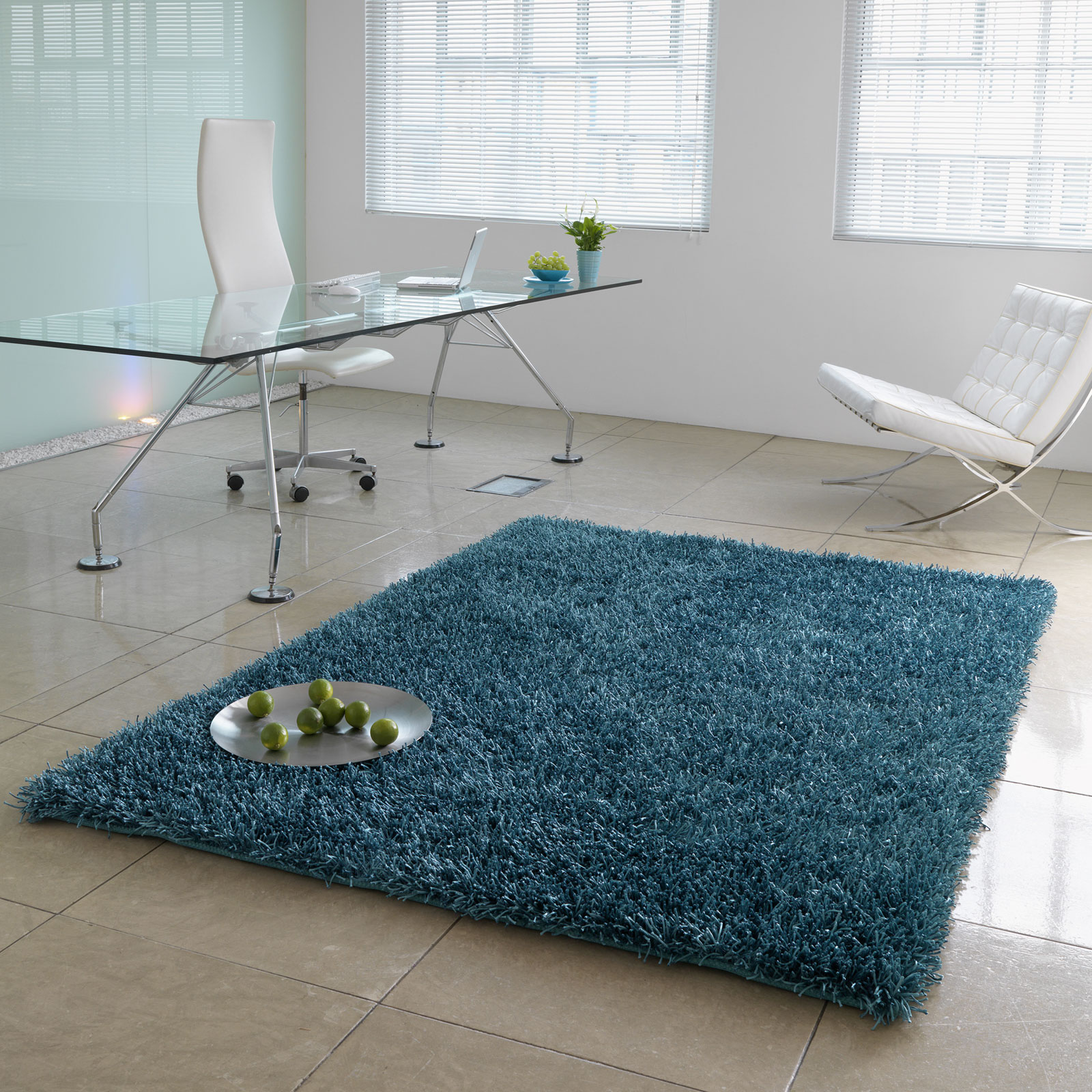 SPARKLE RUGS IN TEAL
