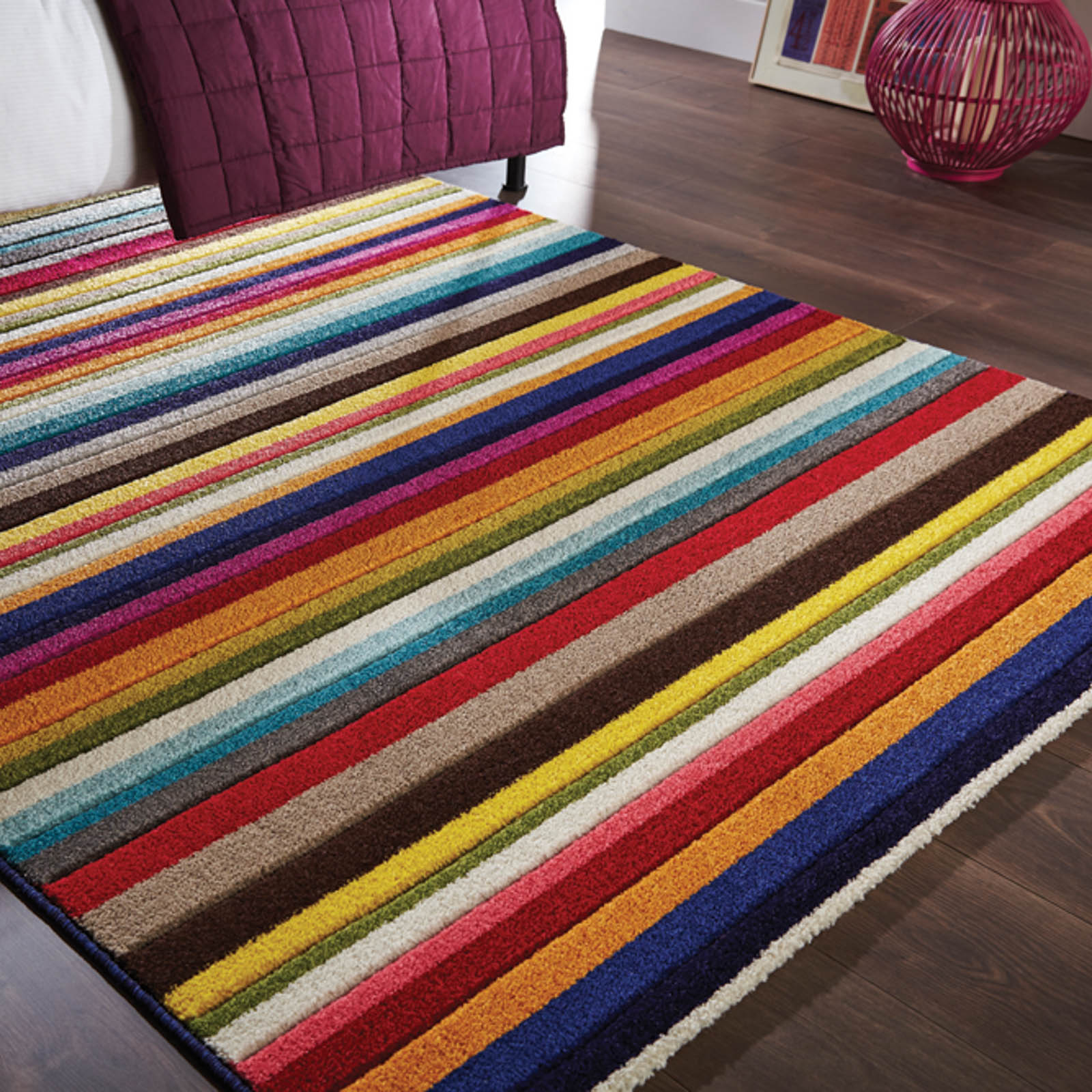 Spectrum Tango Multicoloured Rugs
