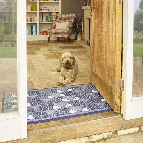 Spike Allover Doormat - Grey