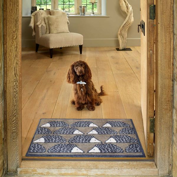 Spike Allover Doormat - Natural