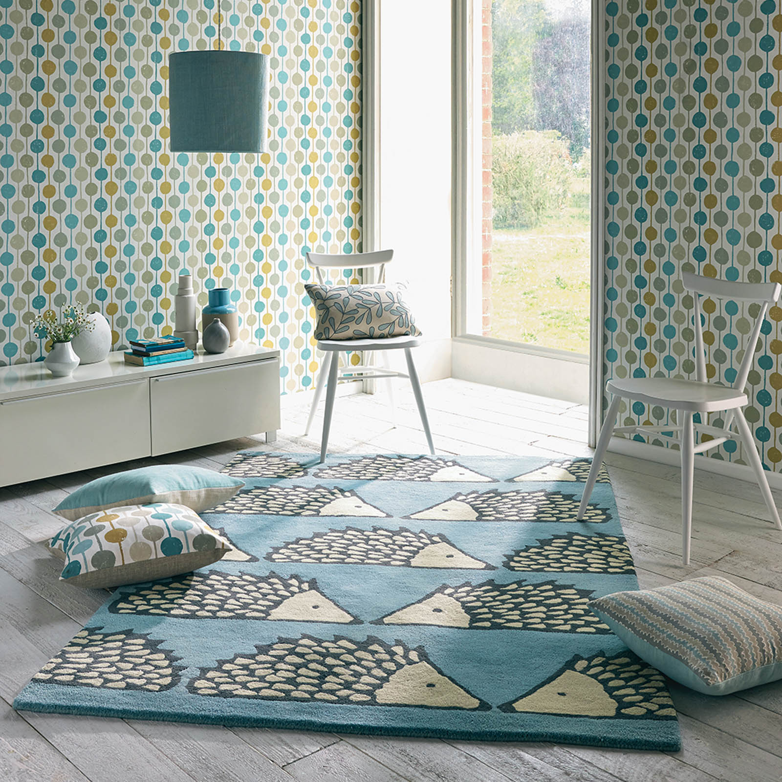 Scion spike Rugs 26808 in Marine - Free UK Delivery - The ...