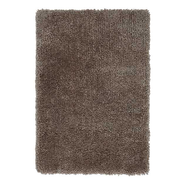 Spiral Shaggy Rugs in Caramel