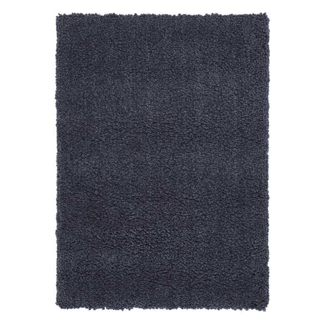 Spiral Shaggy Rugs in Charcoal