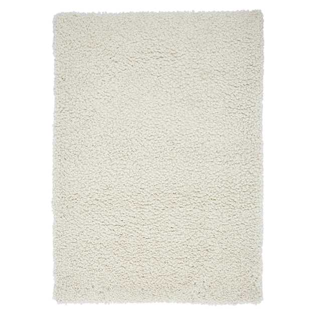 Spiral Shaggy Rugs in Cream