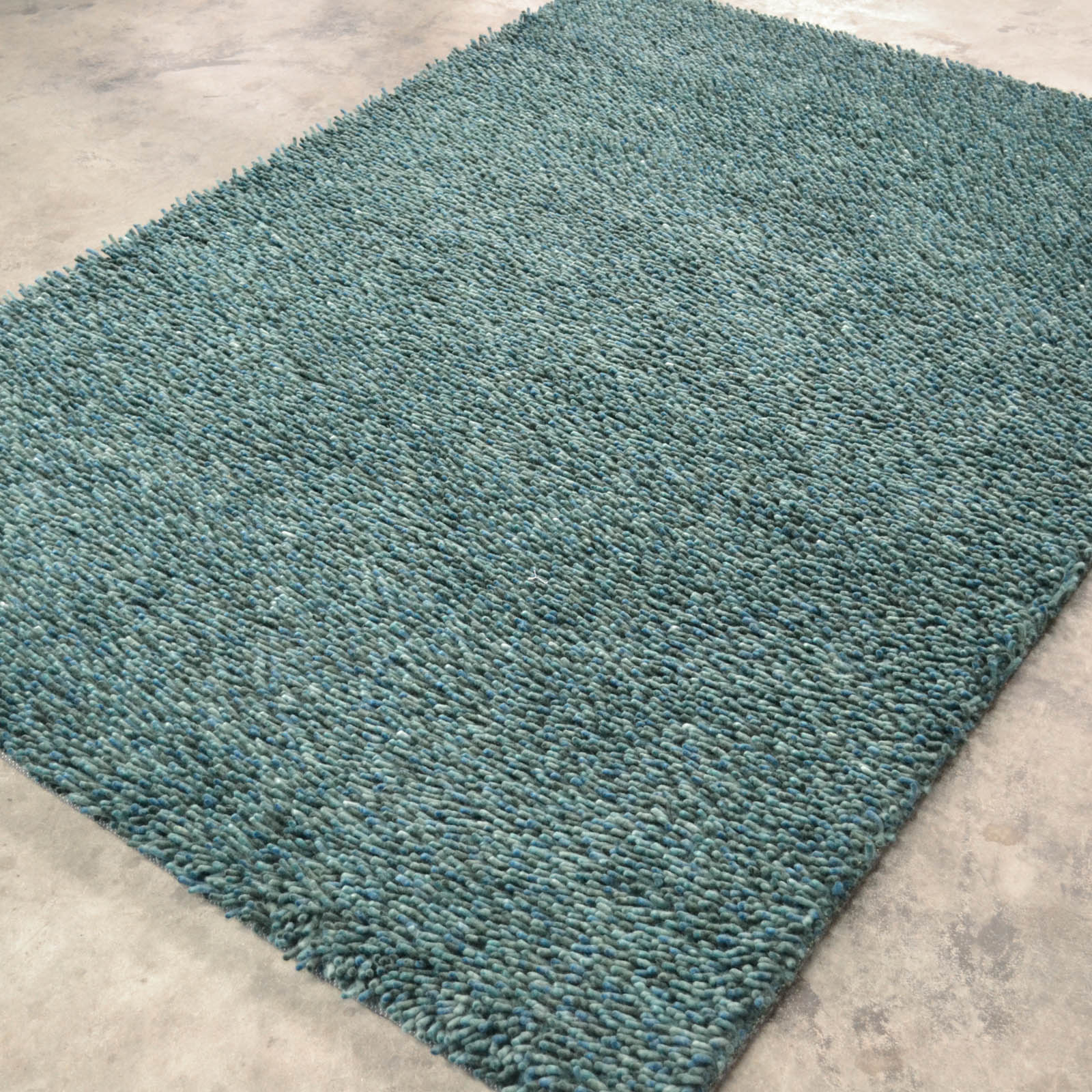 Steel Rugs 78907 Green Blue by Brink and Campman
