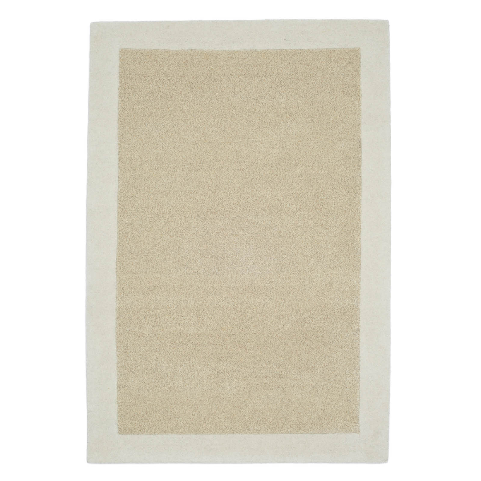 Steppes Border Rugs in Cream