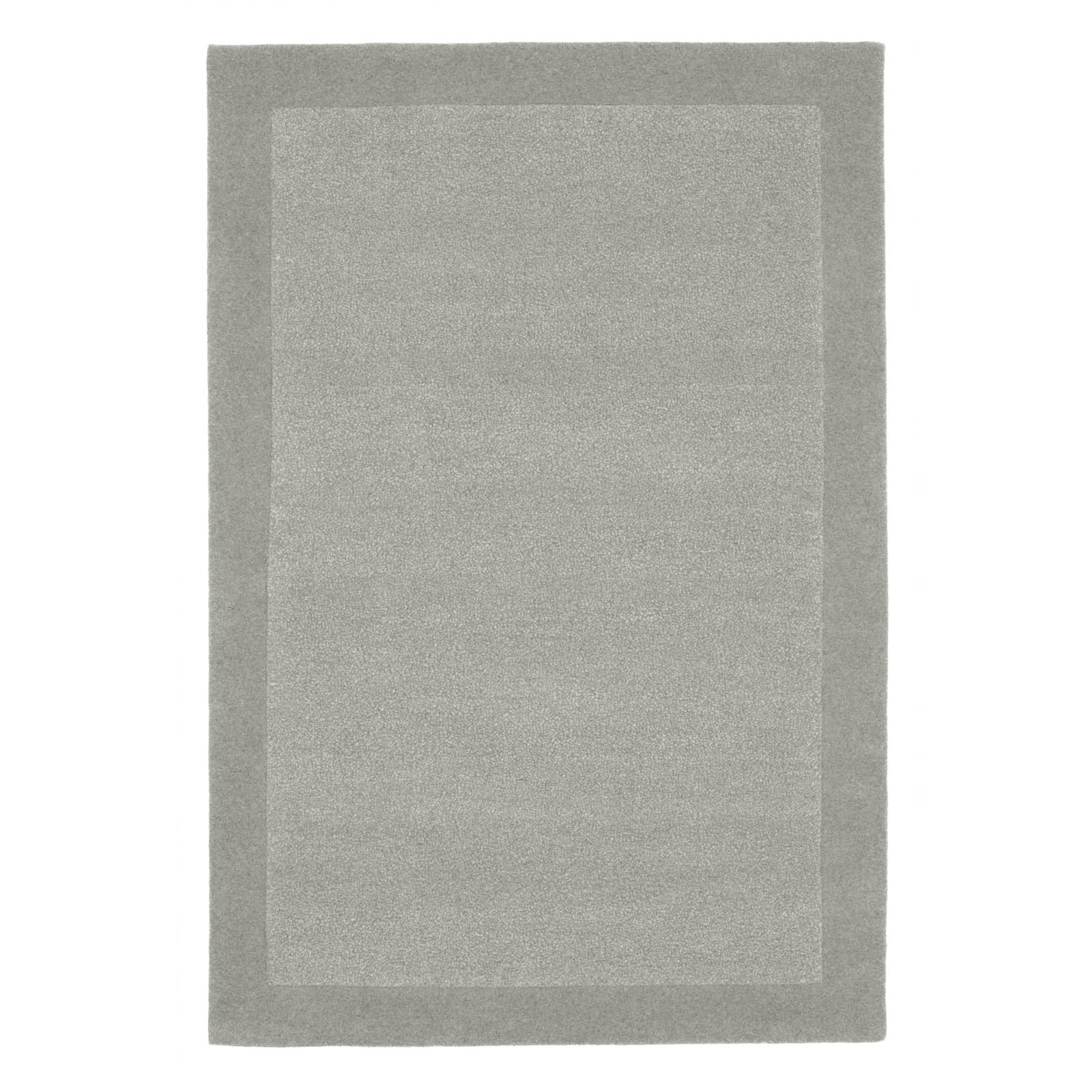 Steppes Border Rugs in Grey
