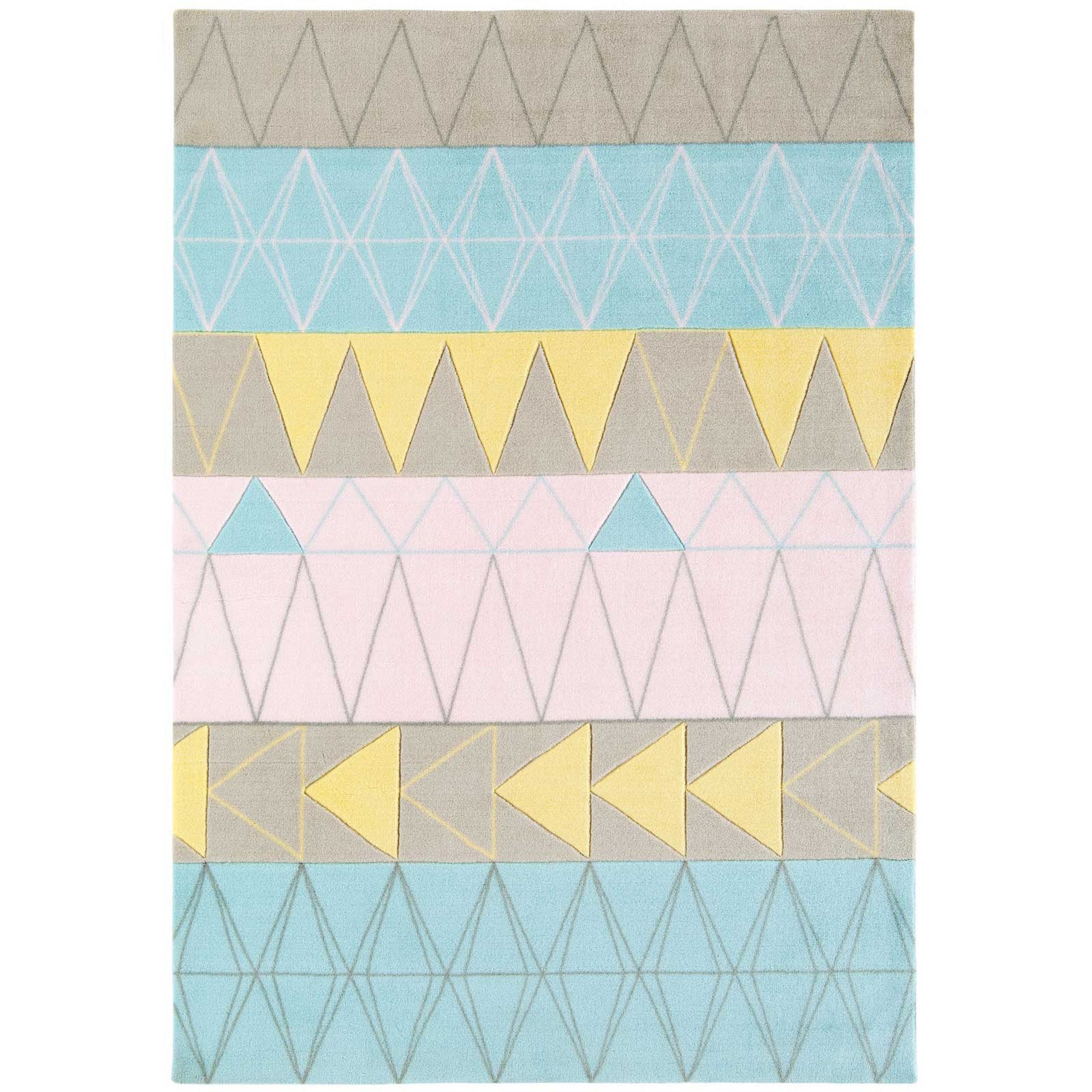 Boca Stockholm Rugs BC01 in Pink