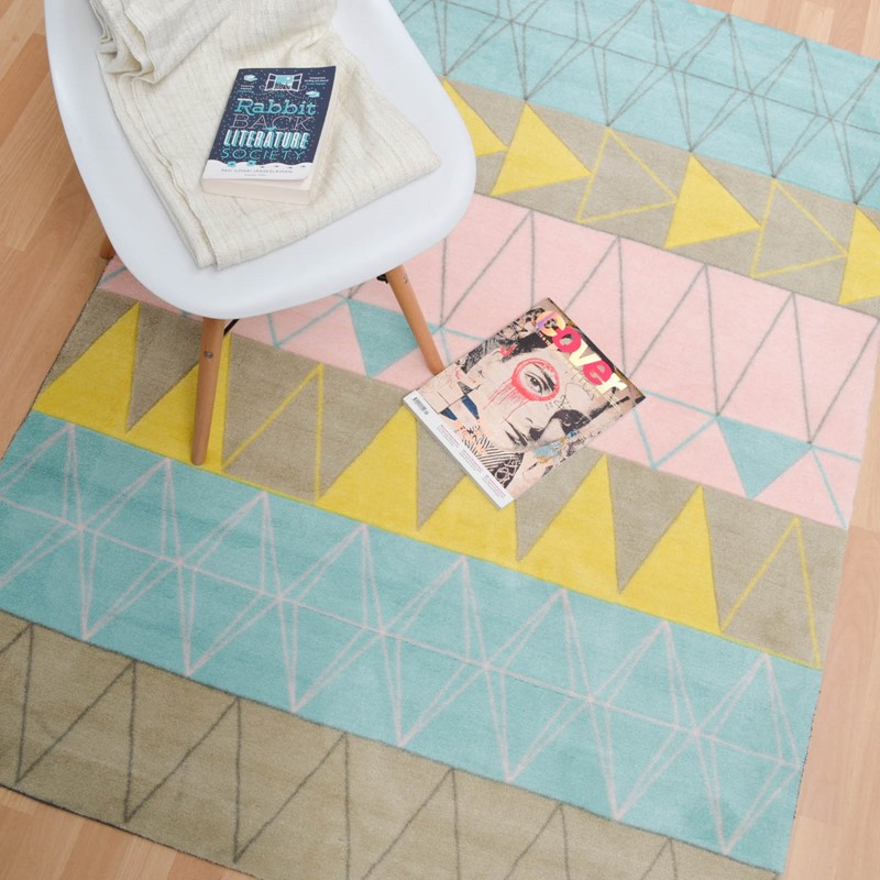 Boca Stockholm Rugs BC01 In Pink Buy Online From The Rug