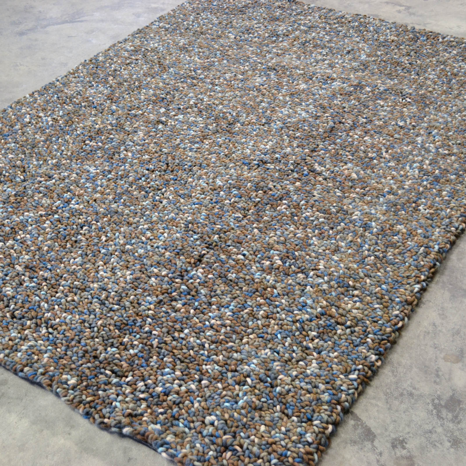Stone Rugs 18815 Brown Blue by Brink and Campman