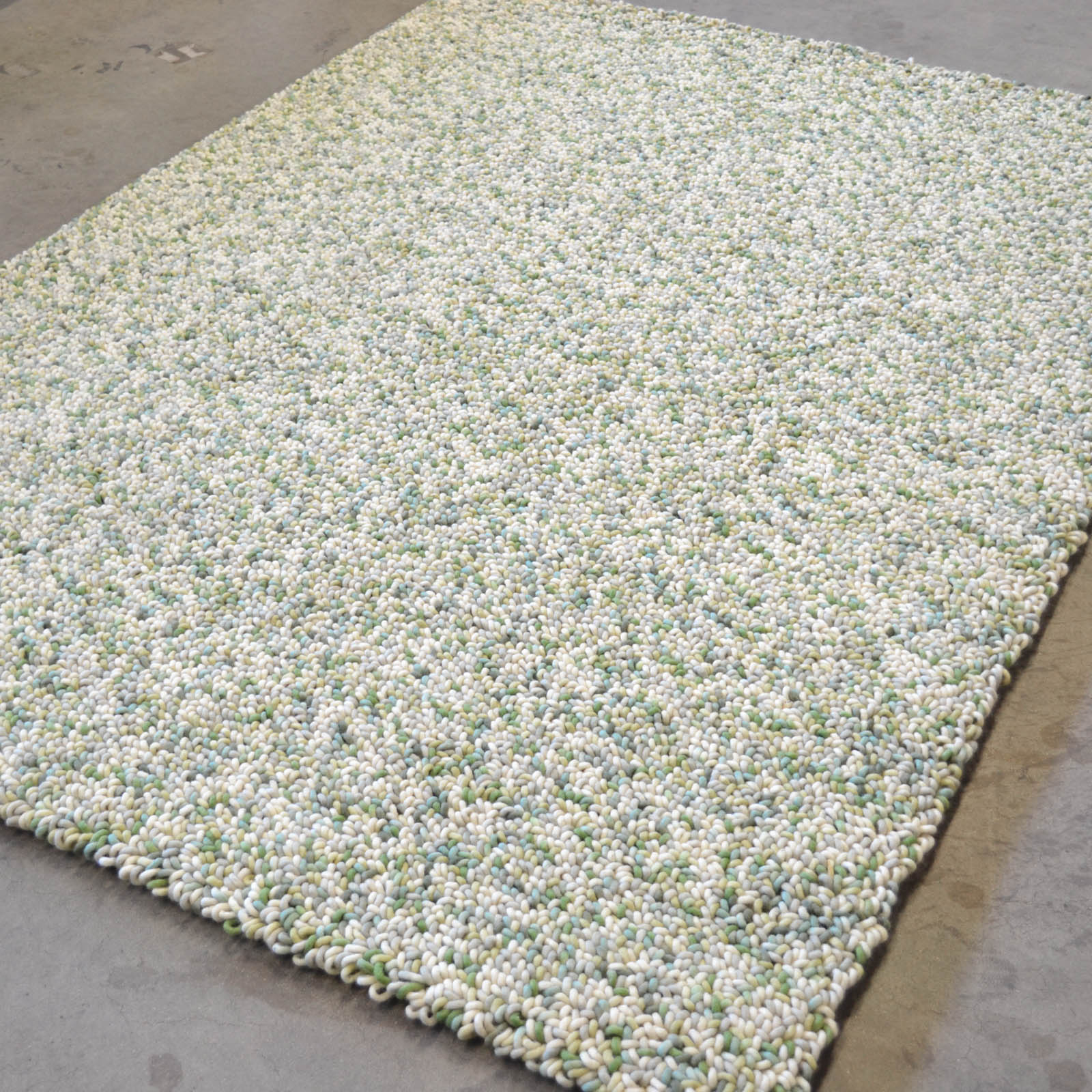 Stone Rugs 18817 Ivory Green by Brink and Campman