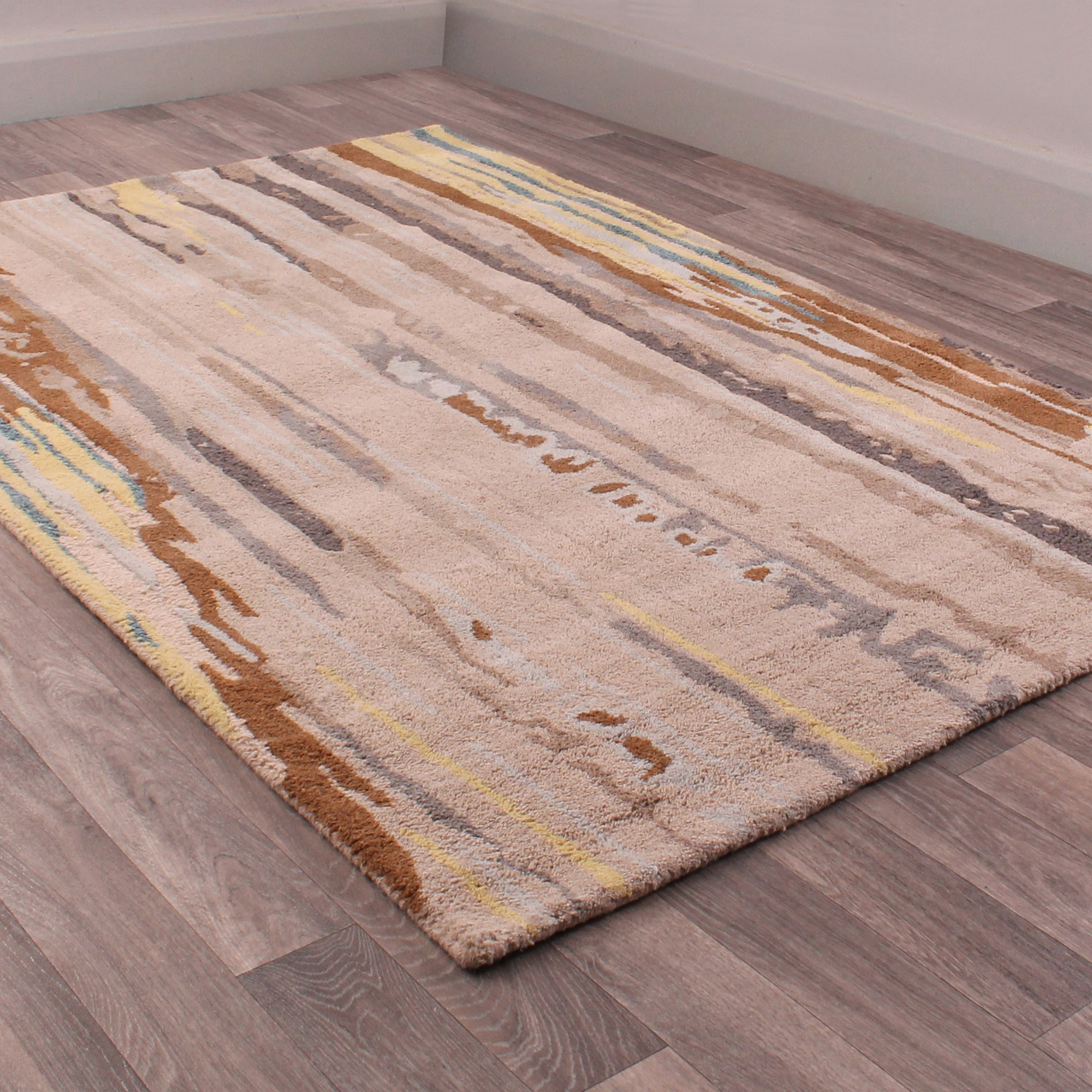 Fusion Strait Rugs in Natural