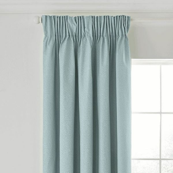 Strawberry Thief Curtains - Blue