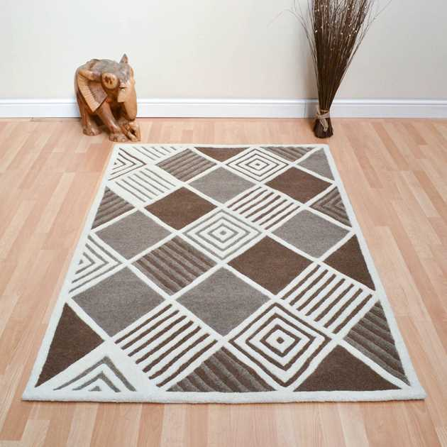 Suburbia Rugs in Cream
