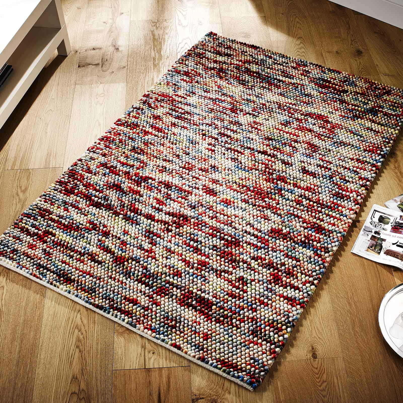 Sumi Multicoloured Wool Rug
