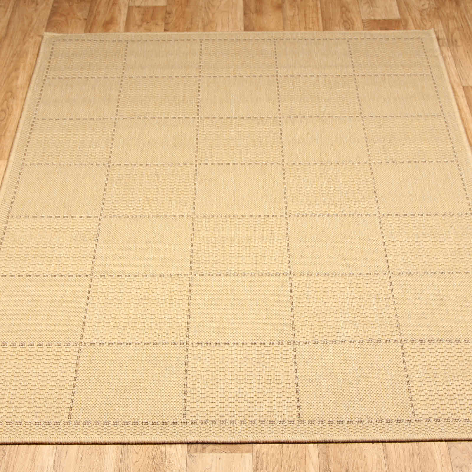 Super Sisalo Anti Slip Kitchen Rugs in Beige