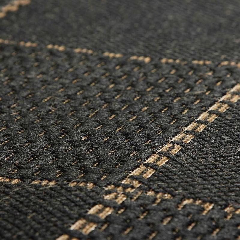 Super Sisalo Anti Slip Kitchen Rugs In Black Buy Online