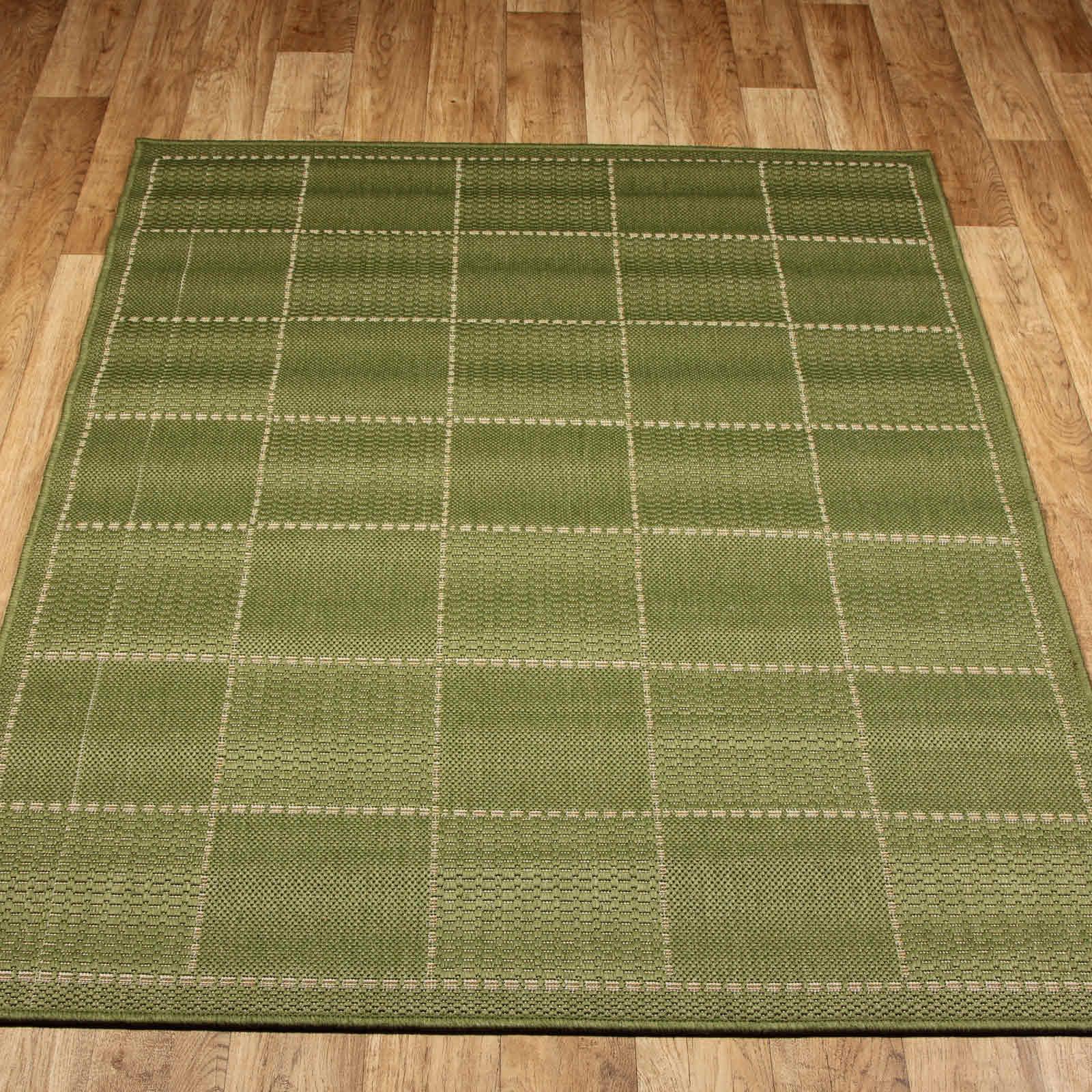 Super Sisalo Anti Slip Kitchen Rugs In Green Free Uk