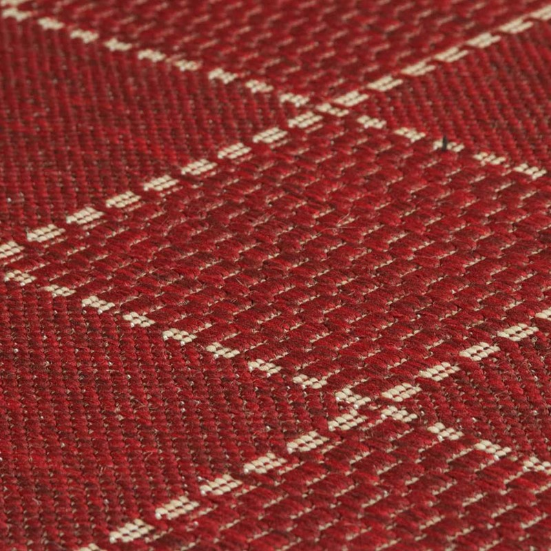 Super Sisalo Anti Slip Kitchen Rugs In Red Buy Online From