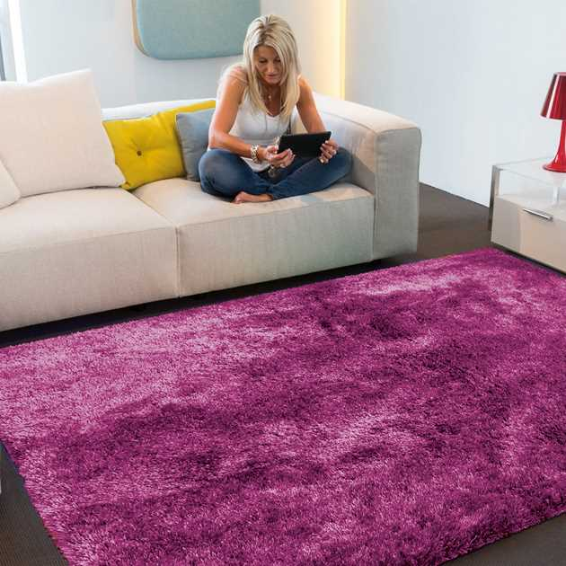 Swing Shaggy Rugs 8100 44 in Pink