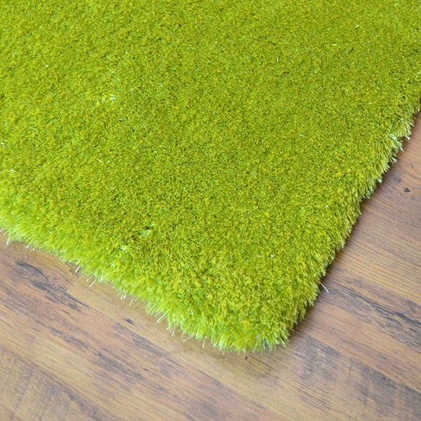 Lime Green Overdyed Rug: Swing Shaggy Rugs 59 In Lime Green