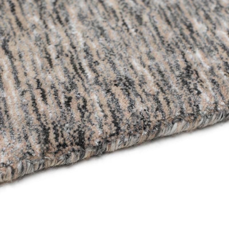 Tiramisu Rugs TIR02 In Charcoal