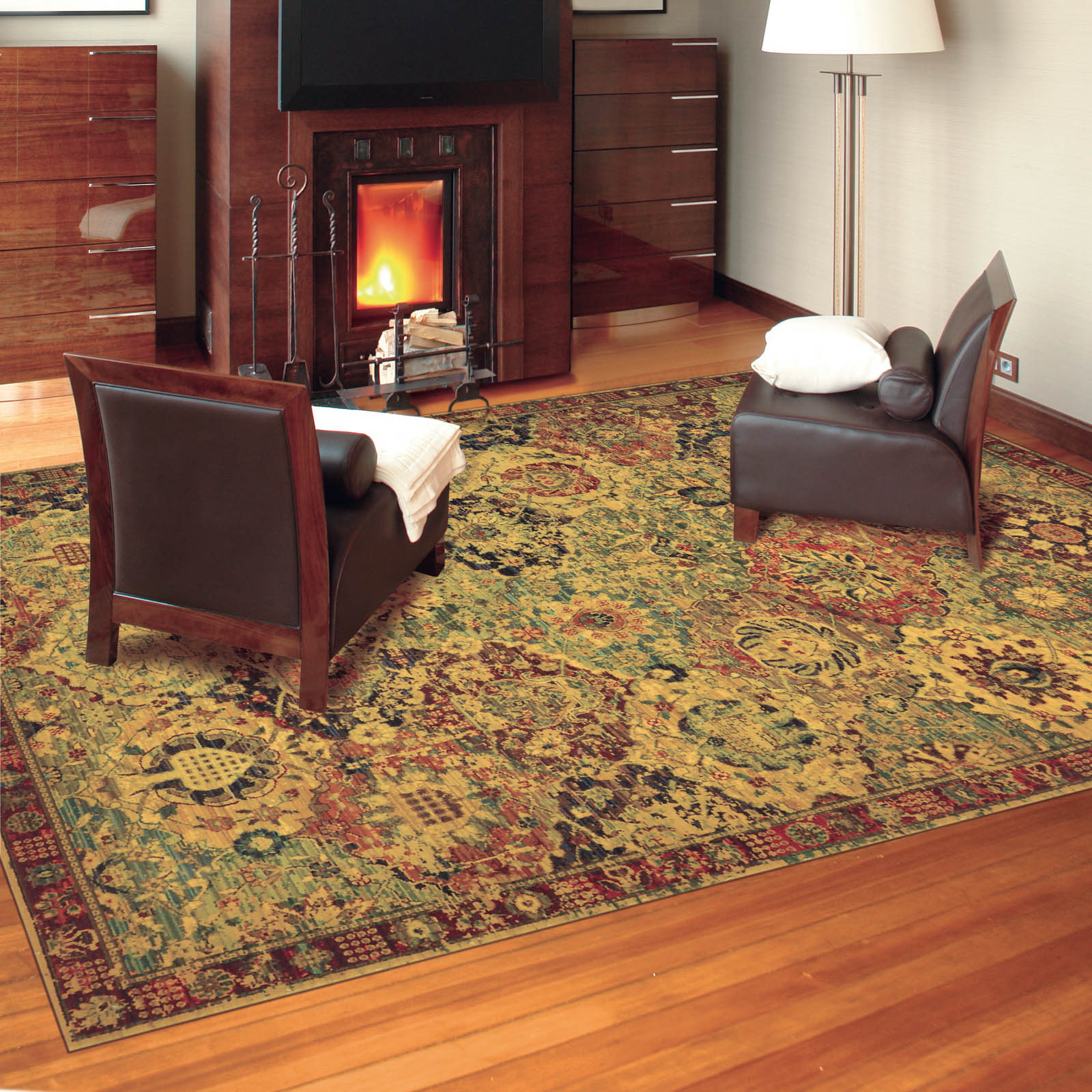 Nourison Timeless Rugs TML03 MTC