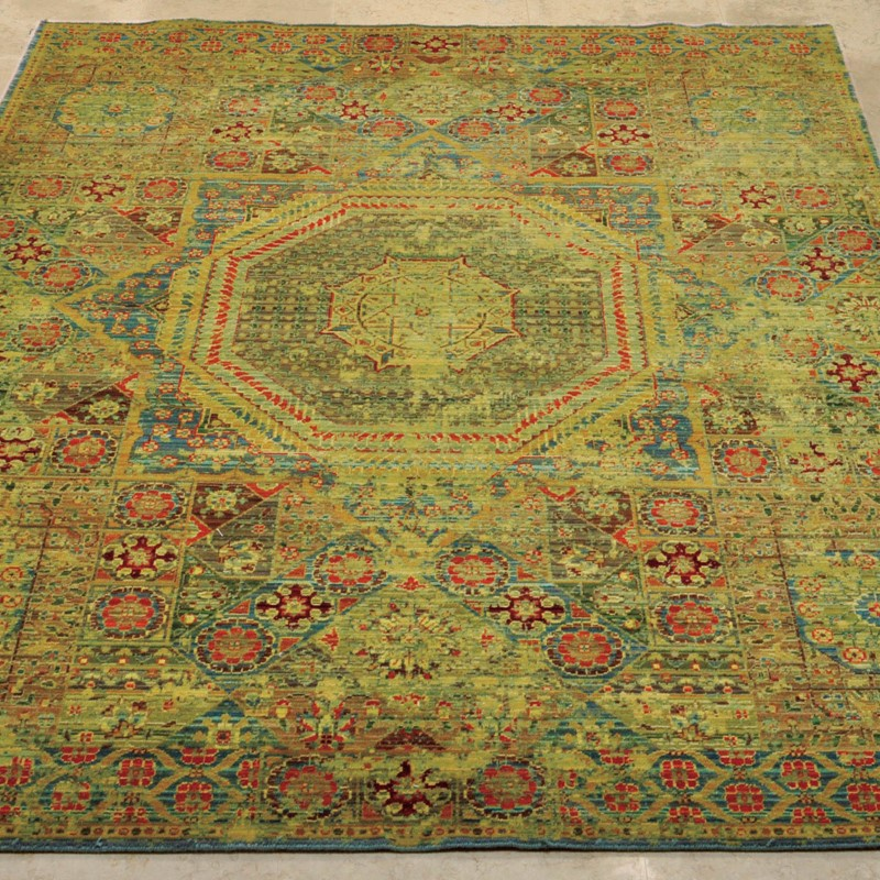 Timeless Rugs TML06 Mamluk Teal Buy Online From The Rug
