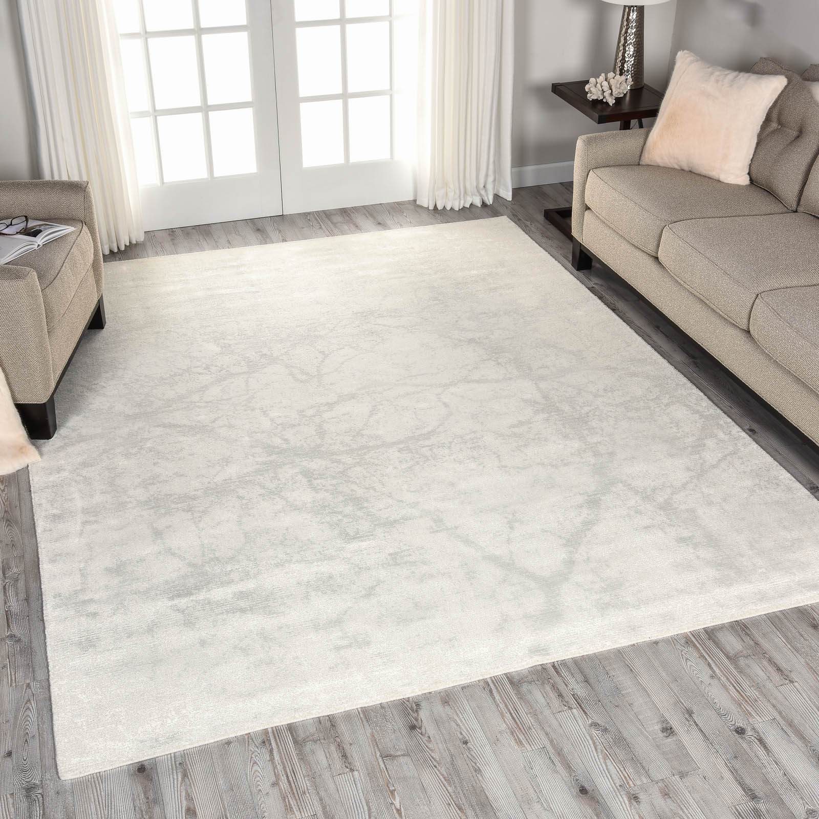 Nourison Twilight Rugs TWI09 in Ivory