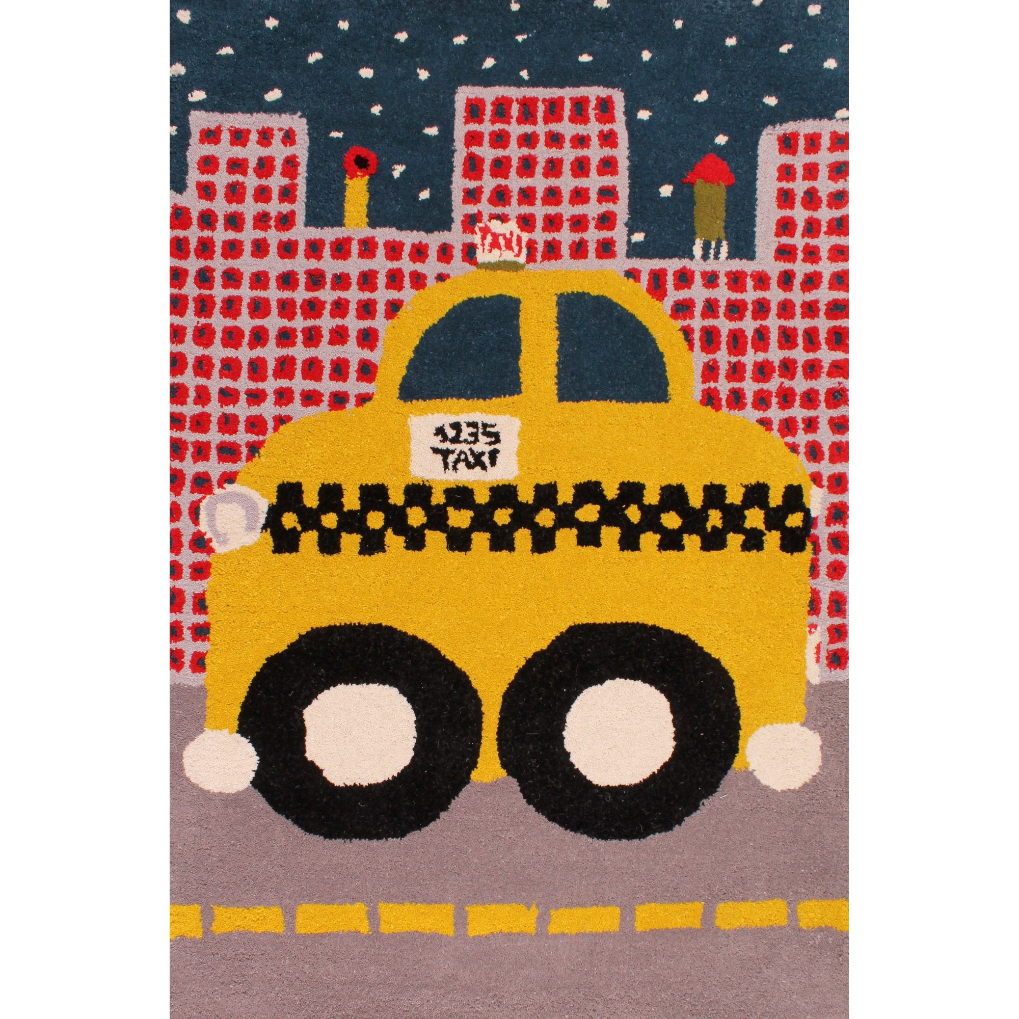 Kids Unique Taxi Rugs