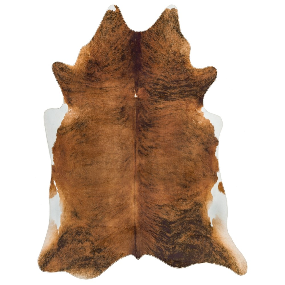 Texas Faux Cowhide Rugs In Chestnut Buy Online From The