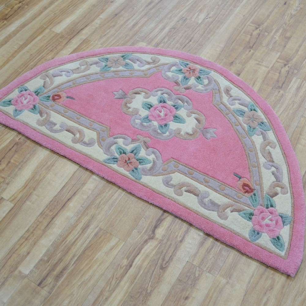 Tientsin Wool Rugs In Pink Buy Online From The Rug Seller Uk