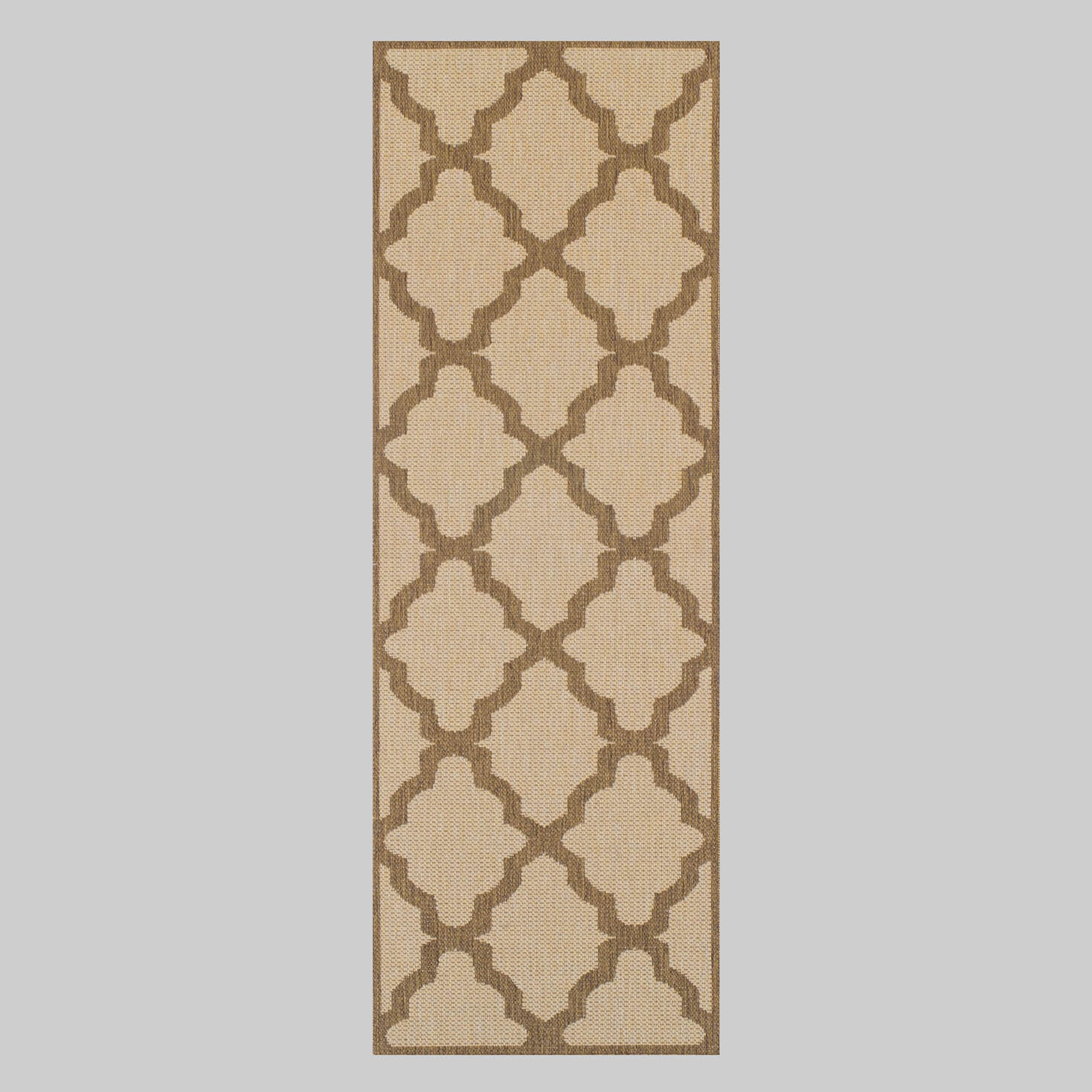 Trellis Runners in Beige